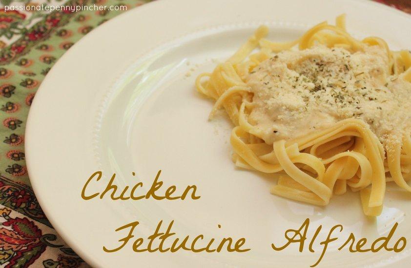 Fettucine Alfredo