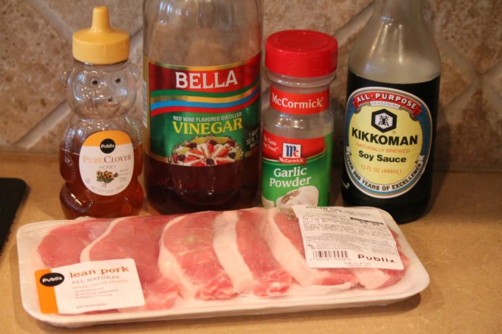 pork chop marinade ingredients