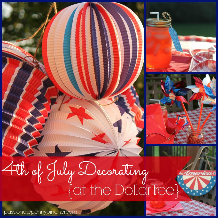 Dollar Tree 4th of July Decorations