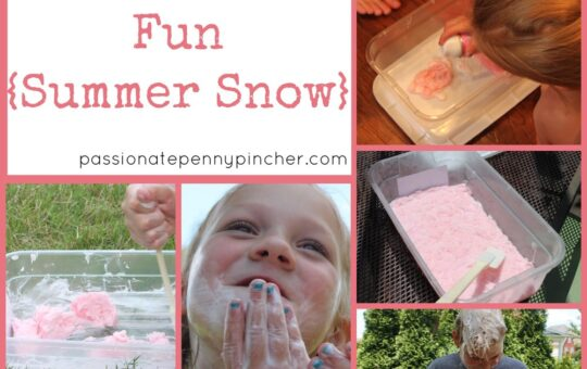 Summer Snow (Shaving Cream)