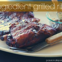 2 ingredient grilled ribs