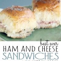 Ham and Cheese Sandwiches - PINTEREST