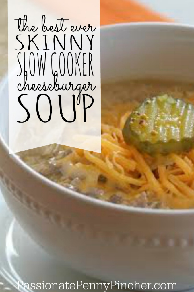 cheeseburger soup - PINTEREST