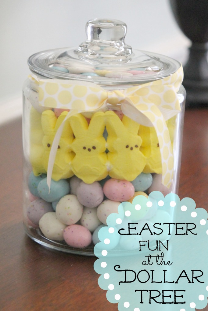 Peeps Easter Candy Centerpiece