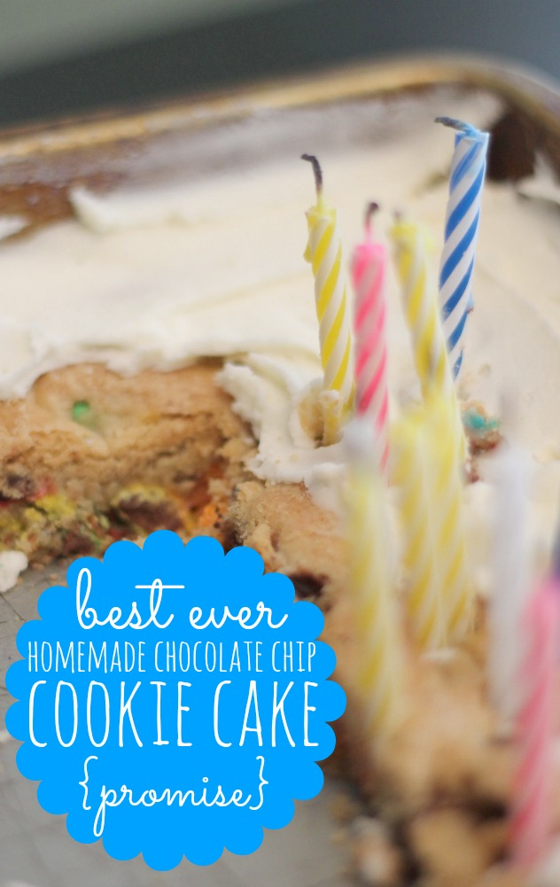 great american cookie cake copycat recipe with birthday candles