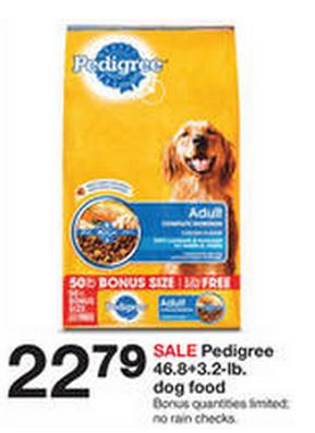 Hot Pedigree Dog Food Just 15 For 50 Pound Bag At Target
