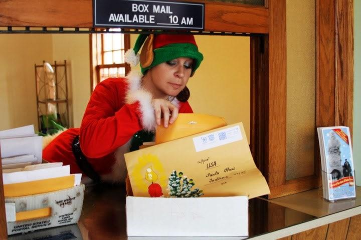 Free Santa Letter at Santa Claus IN