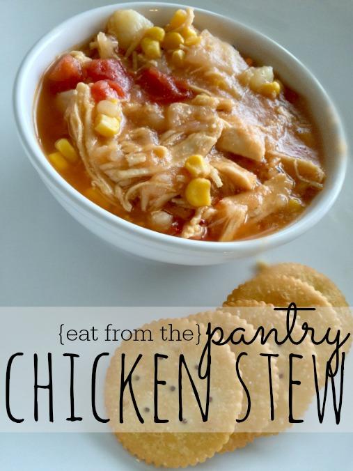 Pantry Chicken Stew Recipe