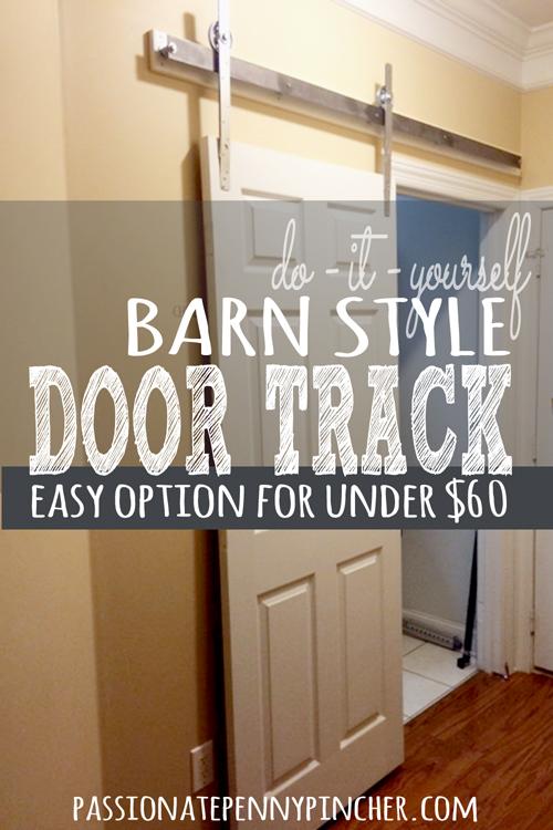 Barn Style Door Track