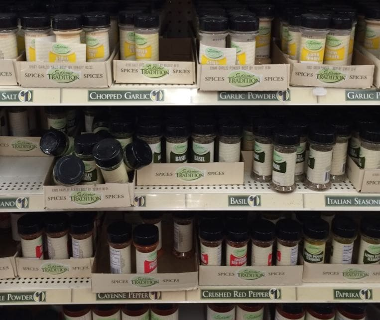 what to buy at dollar tree spices