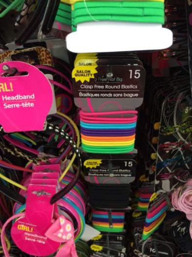 what to buy at dollar tree hair accessories