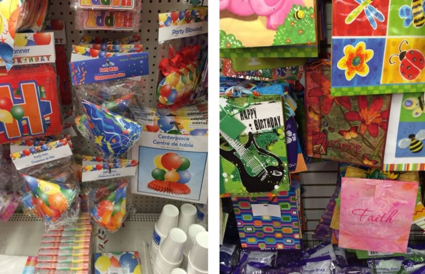 what to buy at dollar tree party supplies