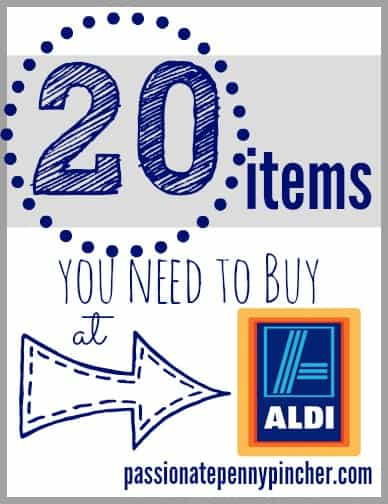 20 items to buy at Aldi