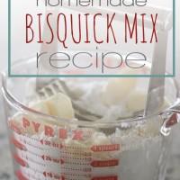 4 Ingredient Bisquick Mix Recipe