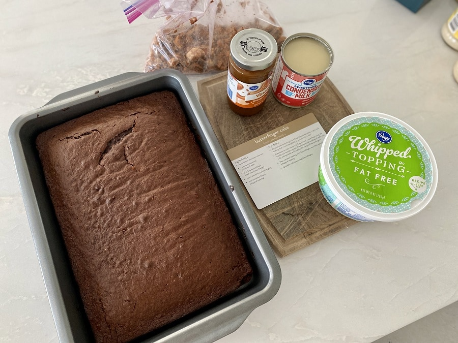 Butterfinger Cake Ingredients