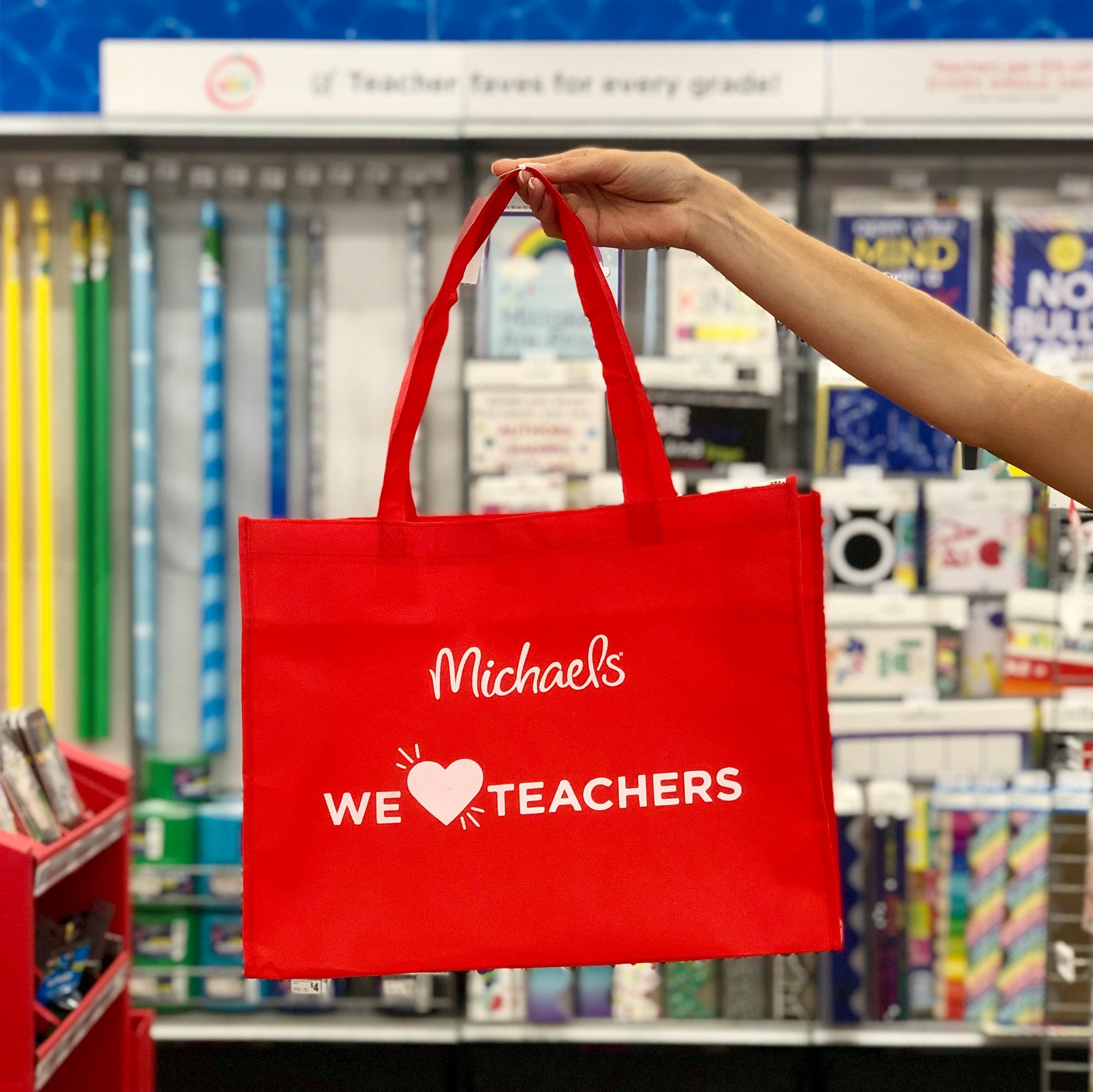 michaels teacher rewards