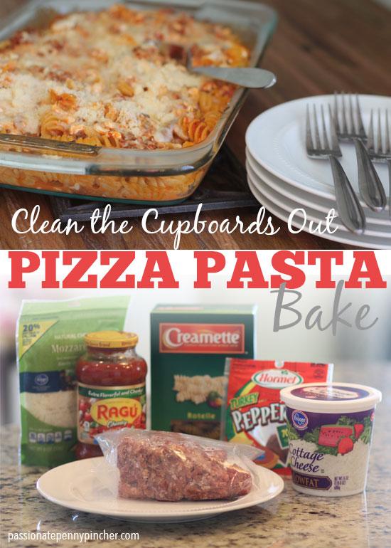 Pasta Bake Recipe Pizza Flavored