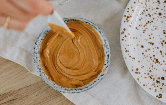 peanut butter in jar