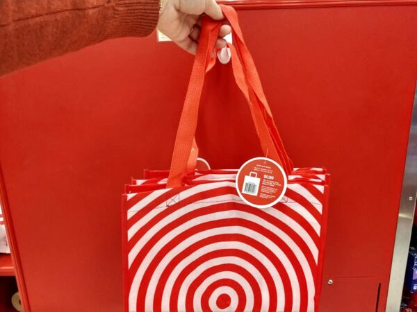 how to save money at target reusable grocery bags