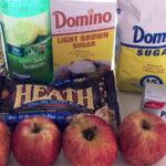 heath bar apple dip ingredients