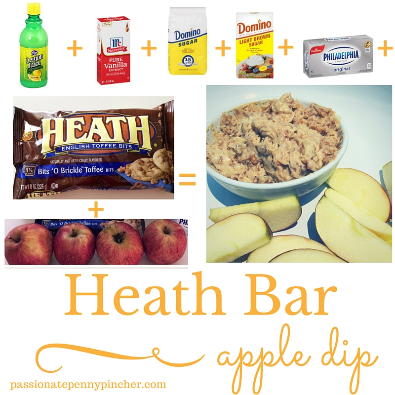 heath bar dip
