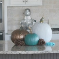 CUTE Painted Pumpkins For Home Decor (Fun For Kids Too!)