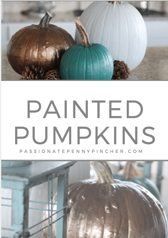 Cute Painted Pumpkins for Your Home