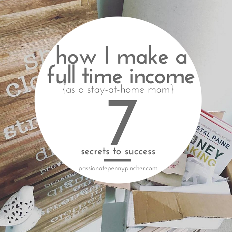how I make afull time income