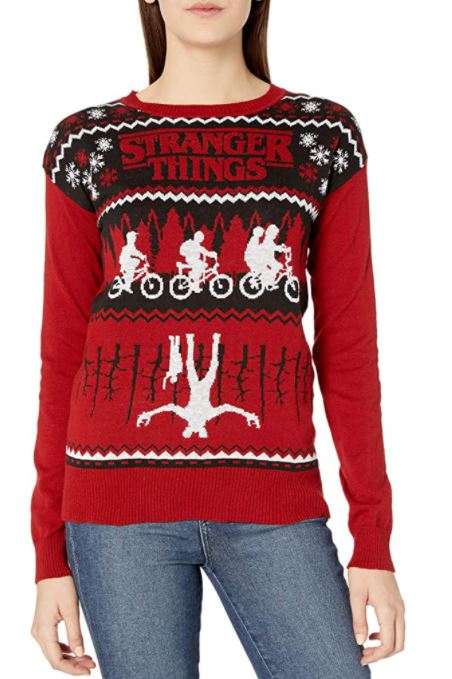 Ugly Christmas Sweater Stranger Things