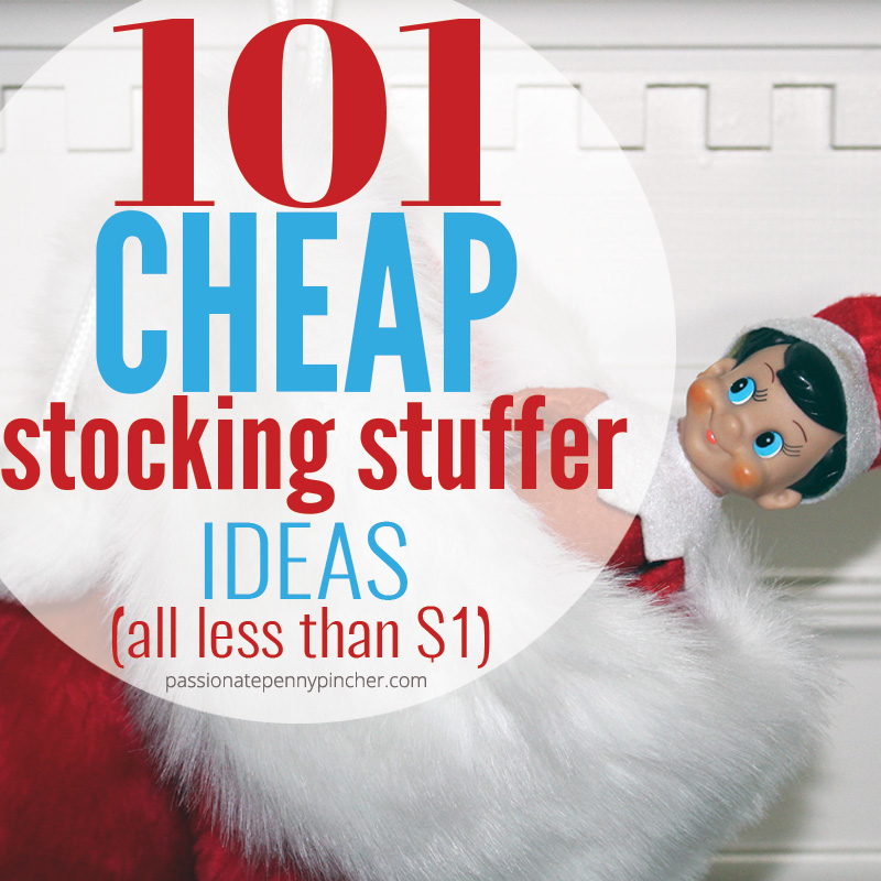 101 Cheap Stocking Stuffer Ideas - Stocking stuffers for toddler, kids, and teens!