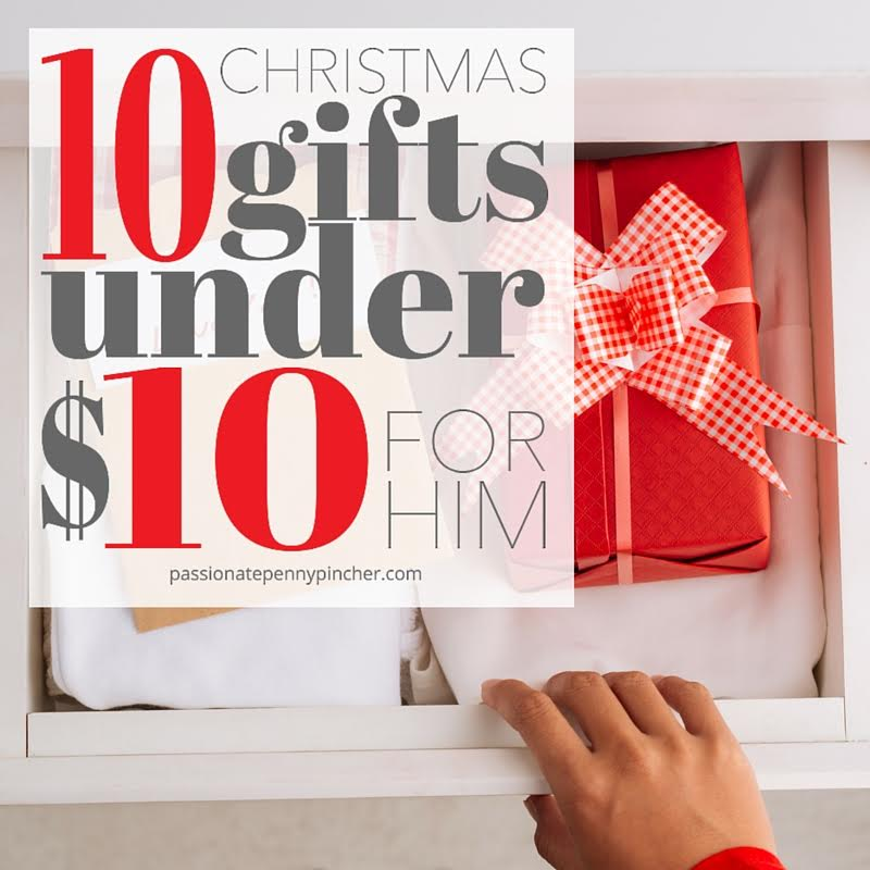 10 Christmas Gifts Under 10 For Him