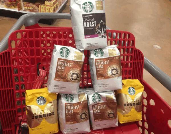 Starbucks Coffee in Cart