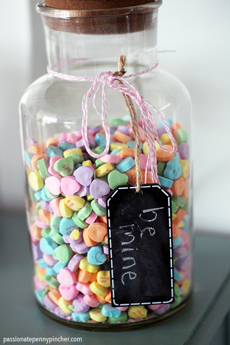 Lamp Jar with Candies