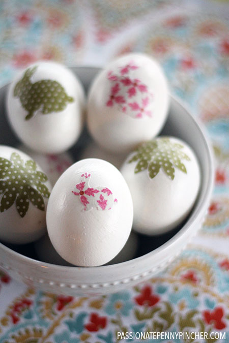Mod Podge Uses - Easter Eggs