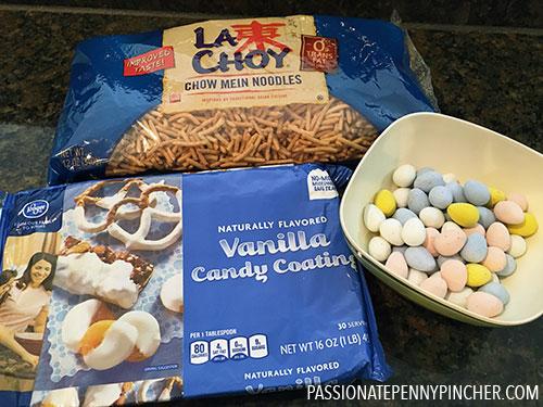 Easter Nest Ingredients
