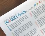 Free Printable Seasonal Produce Guide