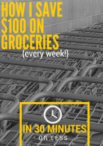 How I Save$100 On Groceries (1)
