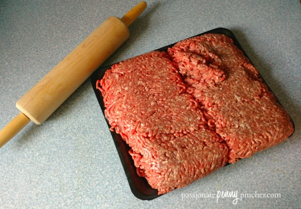How to Store Ground Beef Flat