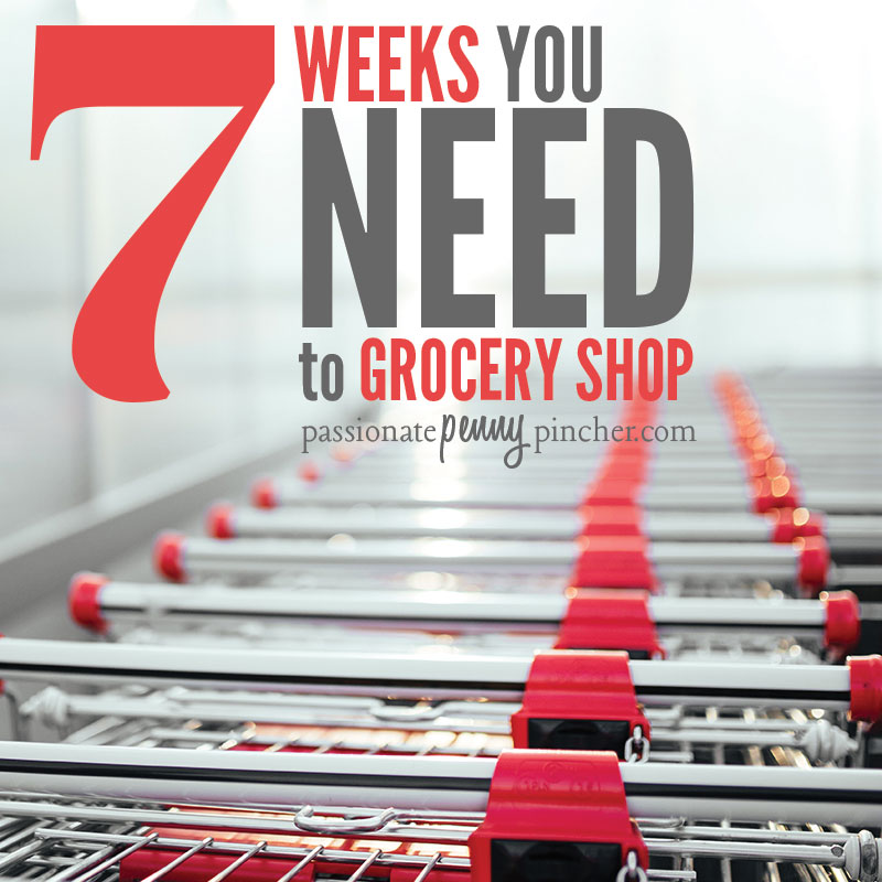 how to save on grocery bills during THESE 7 weeks