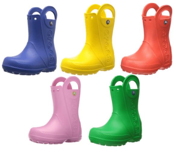 Amazon: Crocs Kids' Rain Boots from