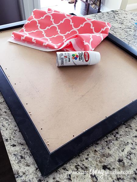 Making a Hobby Lobby Bulletin Board