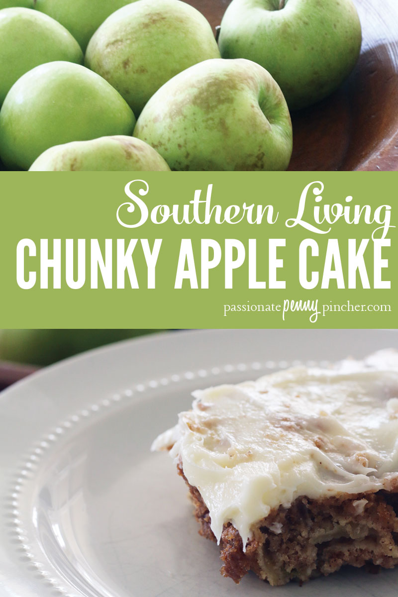 Southern Living Chunky Apple Cake Recipe Finished Version