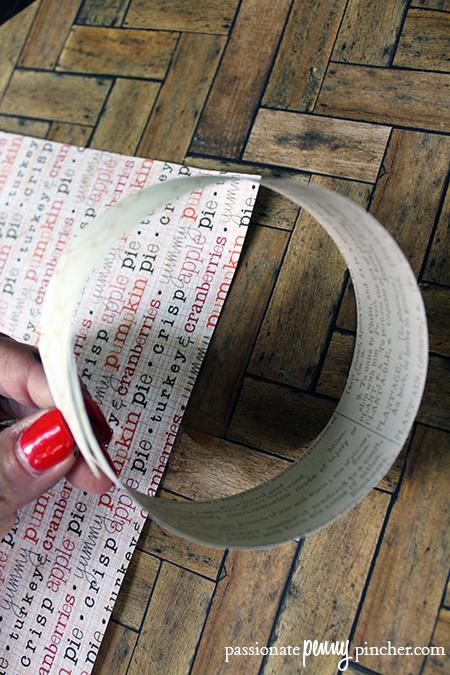 craft paper rings