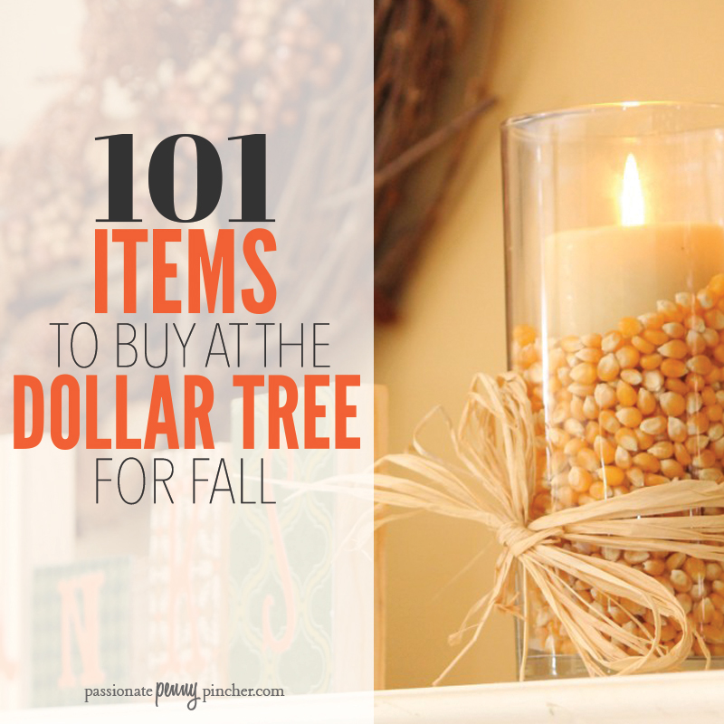 Dollar Tree Fall