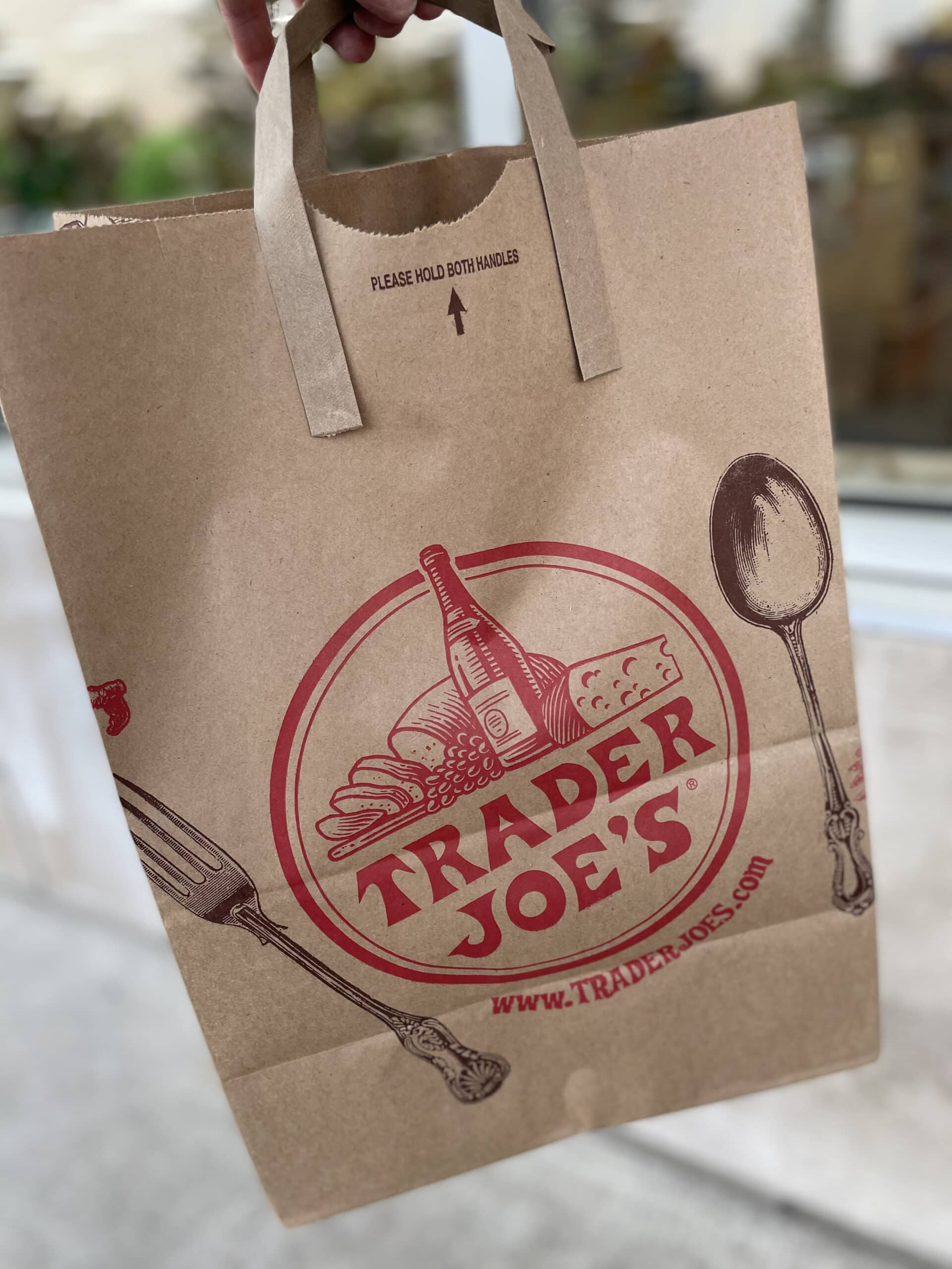 trader joe shopping bag
