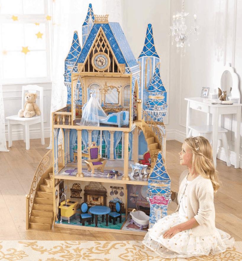 kidkraft-disney-princess-cinderella-royal-dreams-dollhouse-with-furniture