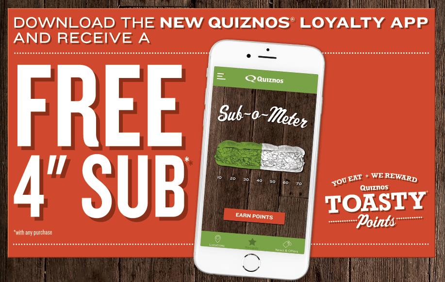 quiznos-toasty-points-app