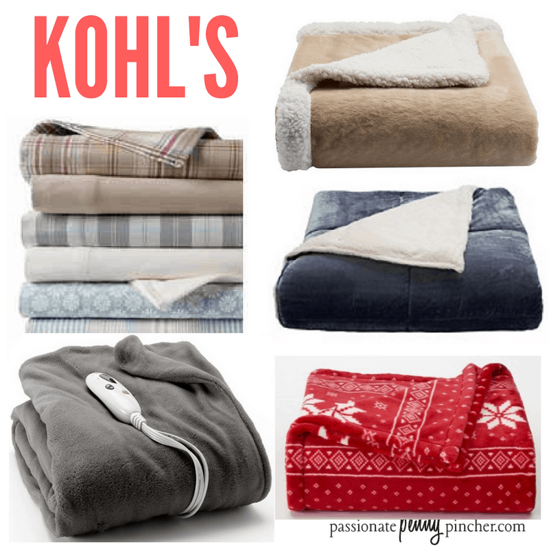Christmas Deal Of The Day 5 Kohl S Bedding Flannel Sheets Plush Throws