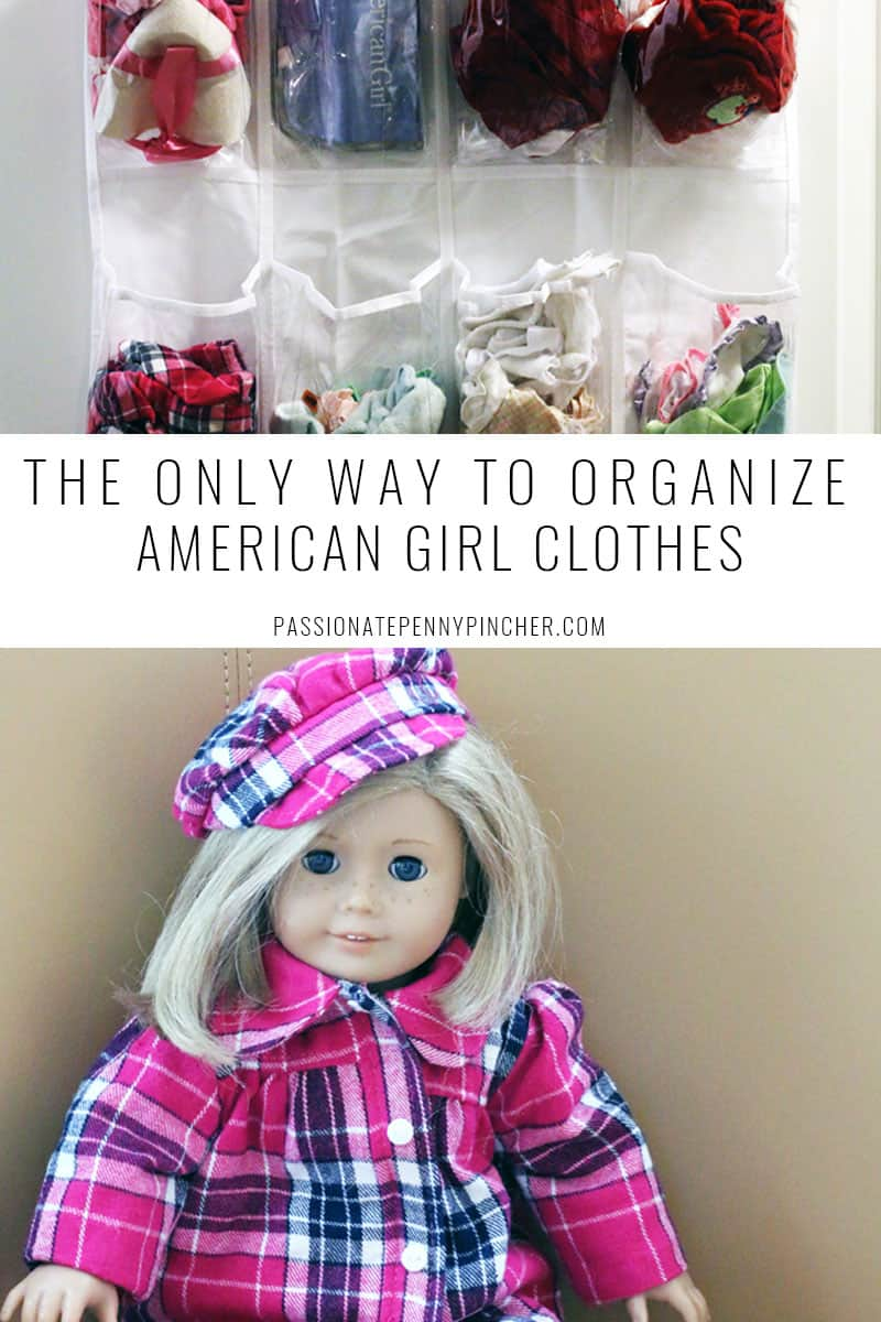 how to Organize American Girl Clothes