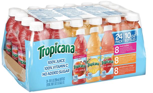 Tropicana 100% Juice 3-Flavor Variety Pack